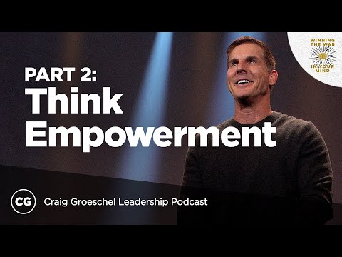 Think Empowerment Not Control: Master Class