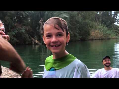 Israel Virtual Tour Ep. 10 Jordan River Baptism, Beit Shean