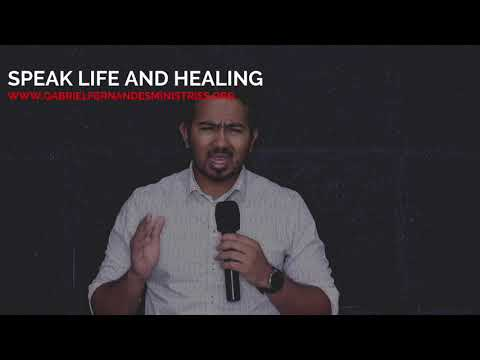 POWERFUL BLESSING & DECLARATION OVER YOU OF LIFE & ABUNDANCE BY EVANGELIST GABRIEL FERNANDES