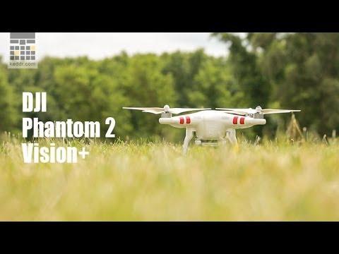 DJI Phantom 2 Vision+ - обзор квадрокоптера от keddr.com