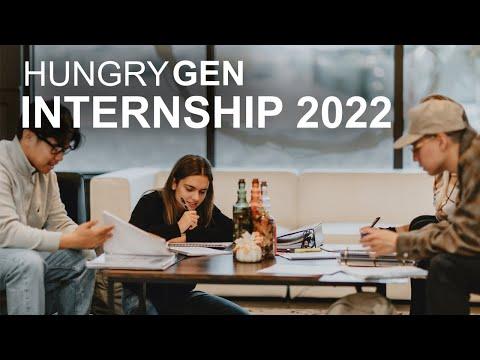 HungryGen Internship 2021