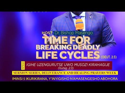 FOURSQUARE TV - IGIHE UZENGURUTSE UWO MUSOZI KIRAHAGIJE HAMWE NA BISHOP DR. FIDELE MASENGO