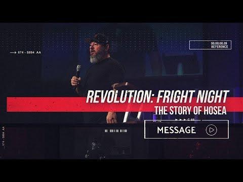 October 25th - Destiny YUMA - Revolution: Fright Night - The Story of Hosea