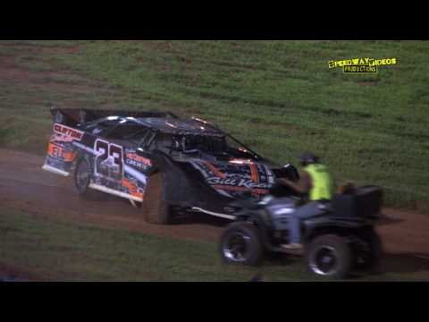 Limited Late Models   411 Motor Speedway   Aug. 23, 2014 - dirt track racing video image