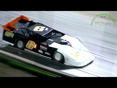 Desert Thunder Raceway Late Model/Modified Old Timers Race 9/25/21 - dirt track racing video image