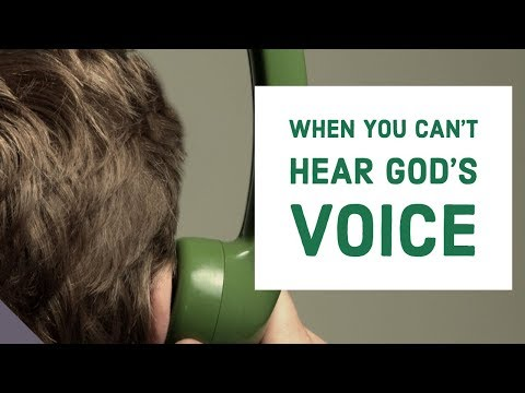 When You Can't Hear From God  Hearing in the Spirit Realm