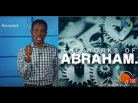 THE WORKS OF ABRAHAM  GODMAN AKINLABI (SUNDAY APRIL 19, 2020 )