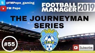 FM19 Journeyman - PFC Sumy v Girnyk-Sport - Last Minute Scenes -S.1 Ep.55 Football Manager 2019 game