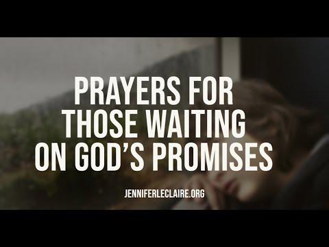 Breakthrough Prayers for Those Waiting on God's Promises