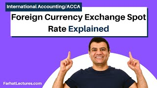 Foreign Currency Exchange Spot Rate | Forward Rate | Option Contract | Put Option | Call  option