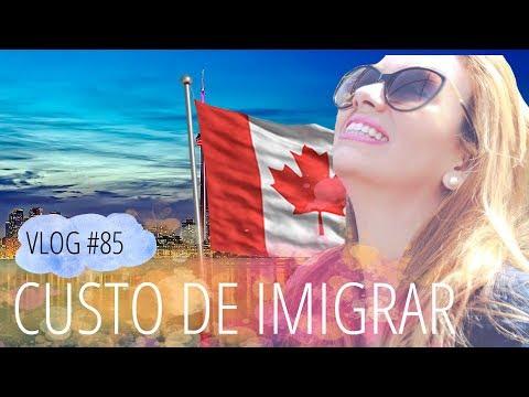 Quanto custa imigrar para o Canadá? | DAILY VLOG #85