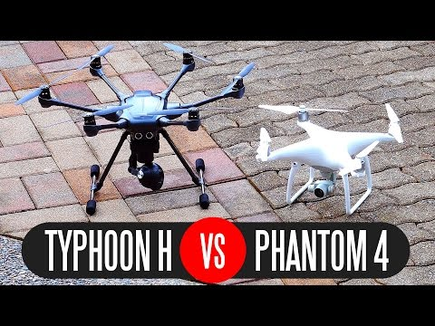 Yuneec Typhoon H vs DJI Phantom 4 - Full Comparison - UCvIbgcm10GqMdwKho8C1Zmw