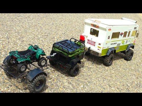 Exhibition SLED PULL Competition - Trail Trucks & Traxxas BL ERevo