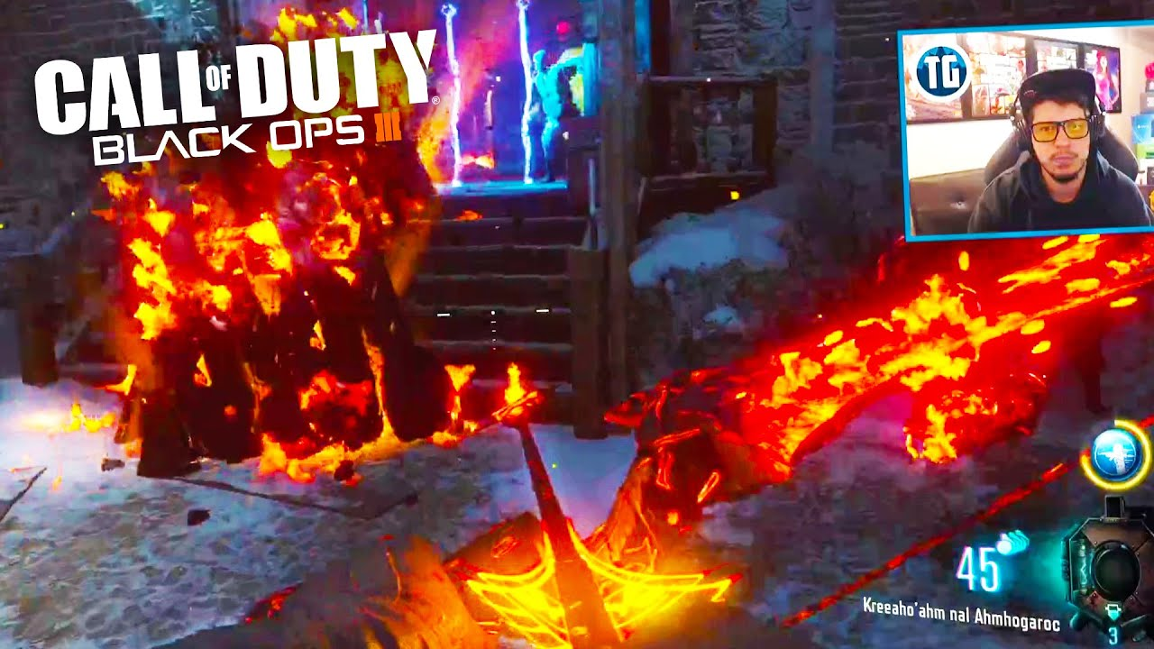 call of duty: black ops 3 - zombies highest round try-harding! (call