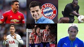 បើនៅមានះចង់ដើរចូលក្លឹបមួយនេះទៀត Sanchez នឹងការខាត់បង់ធំ,Bayern ខ្ចីជើង Coutinho Liverpool បានលាន