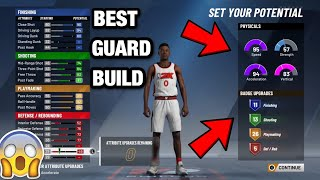 NBA 2K20- THIS IS THE BEST SHOT CREATING BUILD ON NBA 2K20! GLITCHIEST BUILD IN THE GAME😱💯