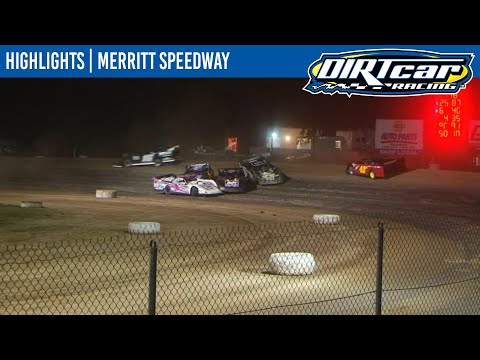 DIRTcar Summer Nationals Late Models Feature Event Highlights from Merritt Speedway in Lake City, Michigan on August 22nd, 2020. - dirt track racing video image