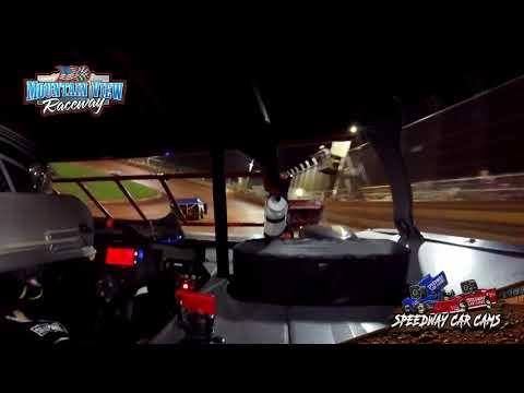 #36 Randy Fly - Mini Late Model - Mountain View Raceway 5-15-21 - InCar Camera - dirt track racing video image