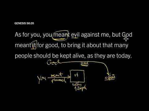 Genesis 50:1621 // Does God Rule Over Sin?