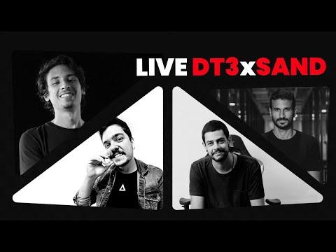 LIVE: Produção de Conteúdo, Cinema e Roteiro    DT3sports x Sand