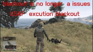 blackout excution *