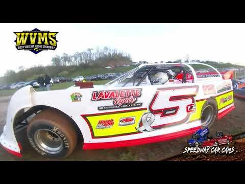 #5C Jacob Curnutte - West Virginia Motor Speedway 4-24-21 - Steel Block - dirt track racing video image