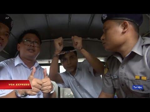 Myanmar: Ký giả Reuters kháng cáo bất thành (VOA)