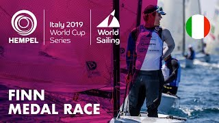 Finn Medal Race | Hempel World Cup Series Genoa 2019