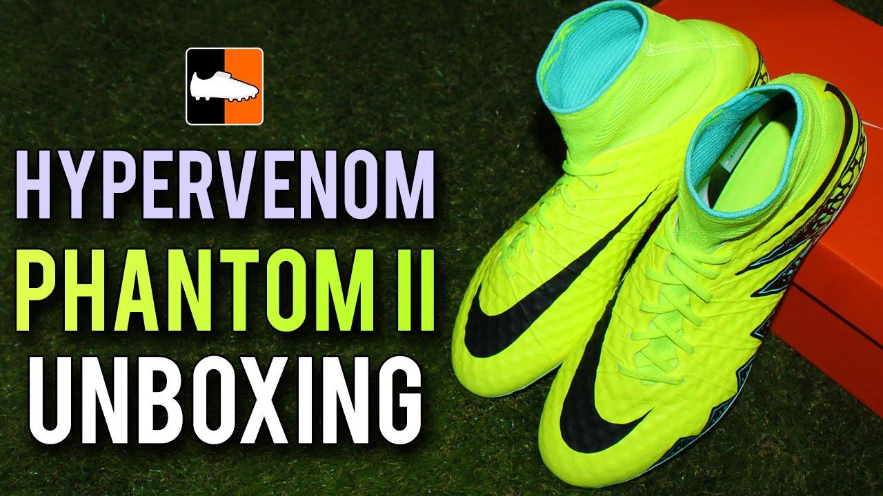 best sneakers e5a49 3f592 Hypervenom Phantom New Upper Unboxing | Spark Brilliance ...