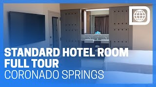 Standard Hotel Room Tour - Casitas Building - Coronado Springs