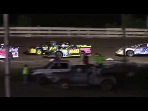 Feature Results:  1st) #37A Jim Bloom 2nd) #948 Joey Zambotti (-0.885 secs) 3rd) #28 Fuzzy Fields (-1.713 secs) 4th) #84S Joshua Seippel (-2.785 secs) DNF) #983 Zack Gustafson (-10 Laps) DNF) #12M Trevor McCann (-10 Laps) DNF) #38 Scott Freer (-17 Laps) - dirt track racing video image
