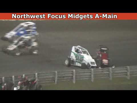 2021 Dirt Cup, Night 2, Northwest Focus Midgets Series A-Main - dirt track racing video image