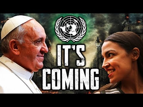 Pope, President & Prophecy Update: Is Something Biblical & Prophetic Coming to America? Trump - AOC