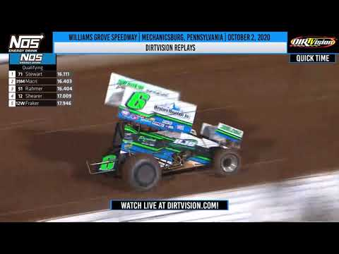 DIRTVISION REPLAYS | Williams Grove Speedway October 2, 2020 - dirt track racing video image