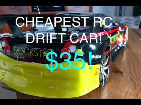 RC Drift Car CHEAPEST 1:10 SCALE $35 REVIEW - UCoUDmP4ofFnR612wl2J2rWw
