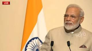 Narendra Modi Remarks At Joint Press Conference With French President | Macron | YOYO TIMES |