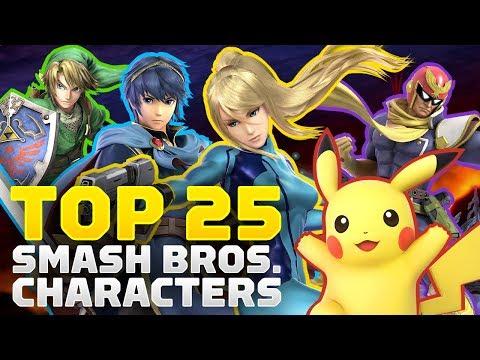 25 Best Super Smash Bros. Characters - UCKy1dAqELo0zrOtPkf0eTMw