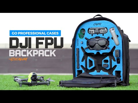 DJI FPV Drone Backpack - GoProfessionalCases New Release + Giveaway - UC9PycnkleNM93xCRl_ZsIjA