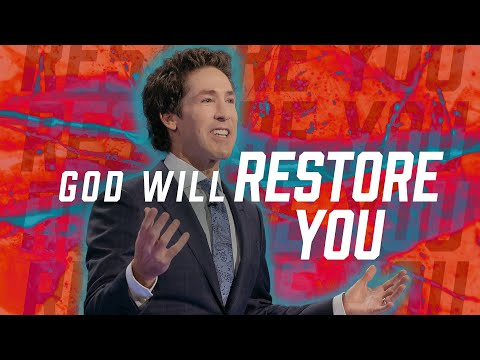 God Will Restore You (Inspiration)