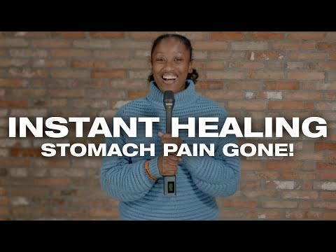 Stomach Pain GONE in an INSTANT through PRAYER! Powerful Testimony!