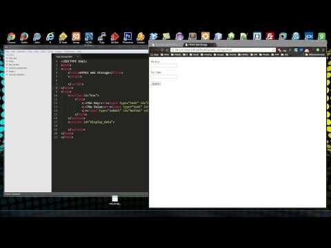 HTML5 Web Storage - UC29ju8bIPH5as8OGnQzwJyA