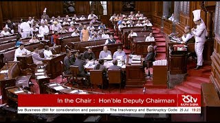 Voting & Passing of The Insolvency and Bankruptcy Code (Amendment) Bill, 2019