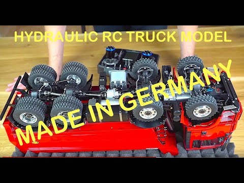 RC TRUCK ACTION REVIEW - MAN TGS 8x8 DUMP TRUCK - ScaleART - UCiEqmyQy5AlAEo3kE4G-1sw