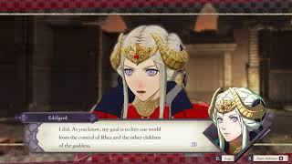 Fire Emblem Three Houses - Chap 18: Edelgard Tells Byleth He Shares Goddess Bloodline Cutscene 2019