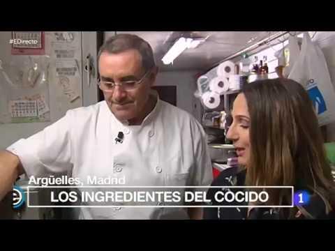 Restaurante Manolo Cocido madrileño y vinos de Madrid- España Directo (La 1)