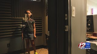 Providence Student Takes Excitement for School Into Studio