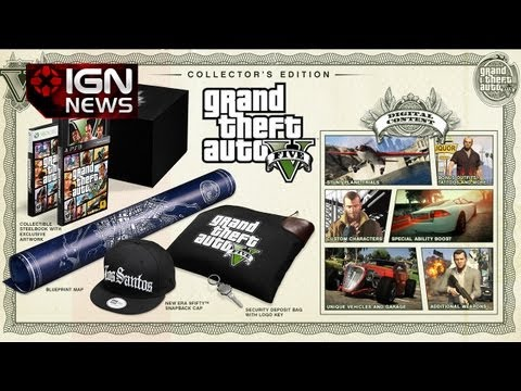 IGN News - Grand Theft Auto V Special Editions Unveiled - UCKy1dAqELo0zrOtPkf0eTMw