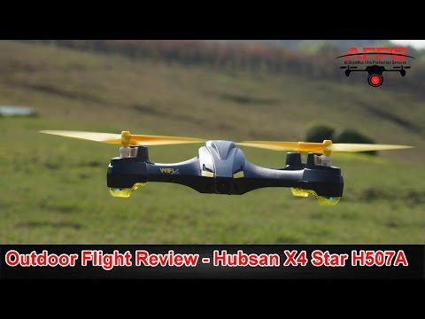 Hubsan H507A X4 Star WIFI FPV Follow Me Drone Flight Review - UCsFctXdFnbeoKpLefdEloEQ