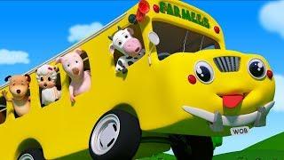 Farmees Preschool Rhymes | Kindergarten Videos For Kids | Songs For Babies