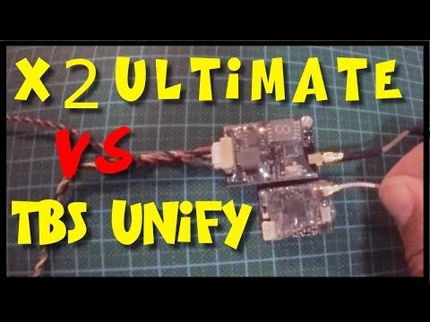 AKK X2-Ultimate vs TBS Unify PRO V3 | Review and Video Signal Test comparison - UCPi3_vy36_spVondvsZlAQg